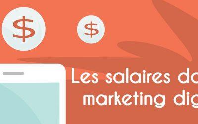 Les salaires dans le Marketing Digital