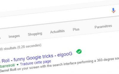 Les «Easter Egg» dans Google