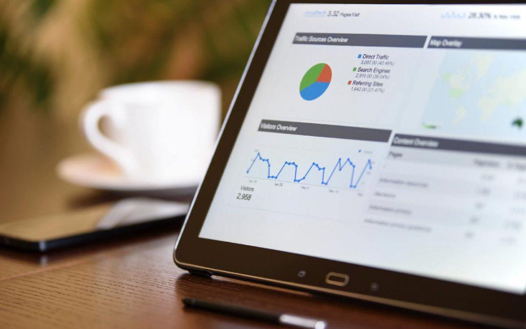 Projets professionnels sur Google Analytics
